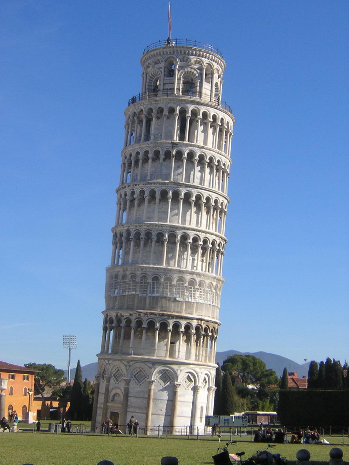 Pin la lettre o on pinterest - La tour penchee de pise ...